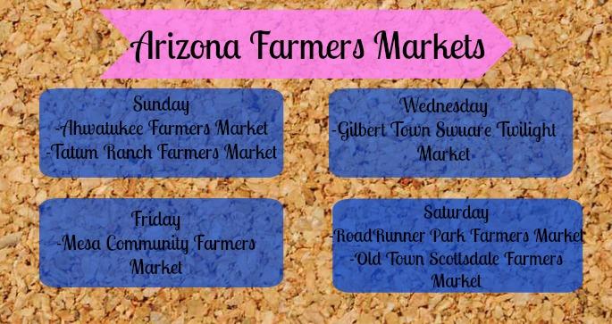 Arizona Farmers Markets