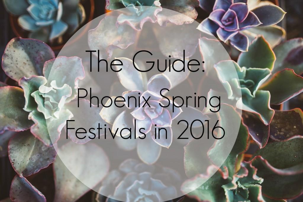phoenix spring festivals in 2016