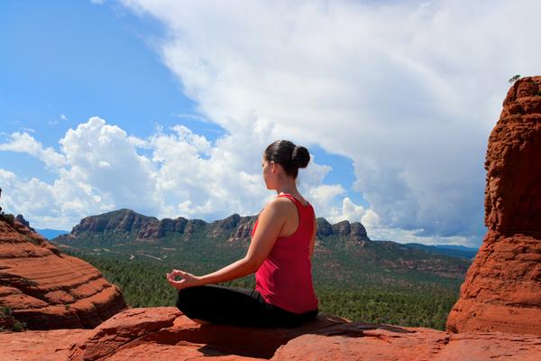 yoga in sedona