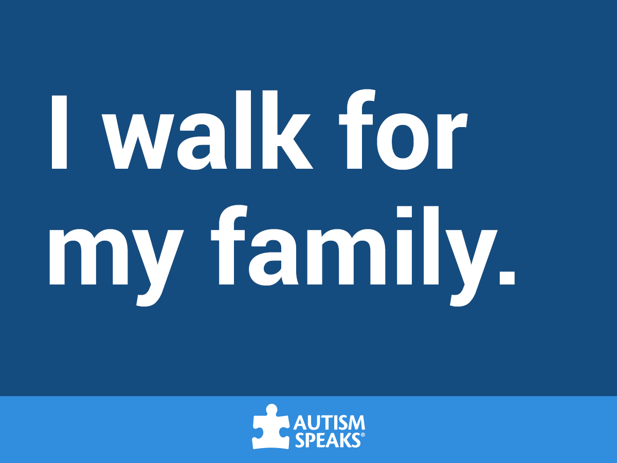 I walk for my family (1)
