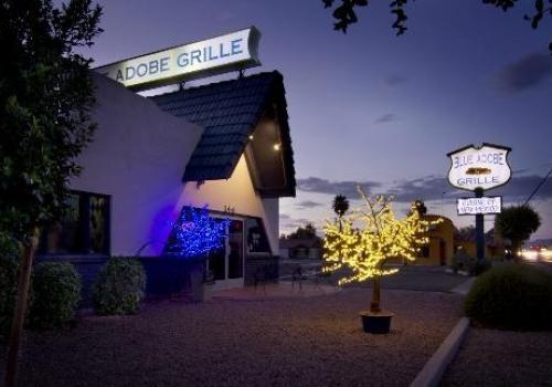 Blue Adobe Sante Fe Grille