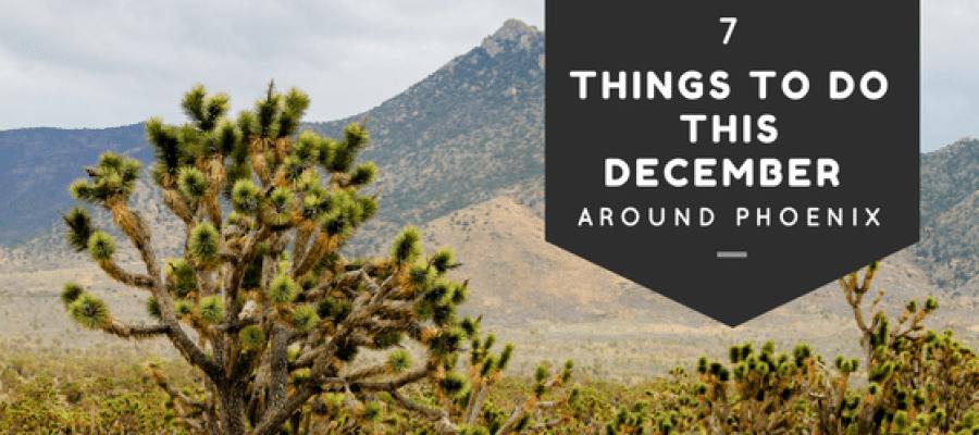 7 Things to Do this December Around Phoenix