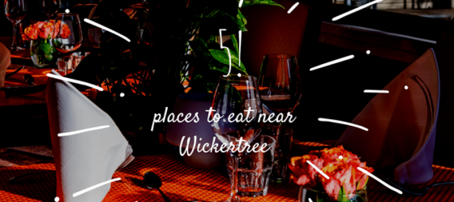 Hungry? Here are 5 Places by the Place at Wickertree!