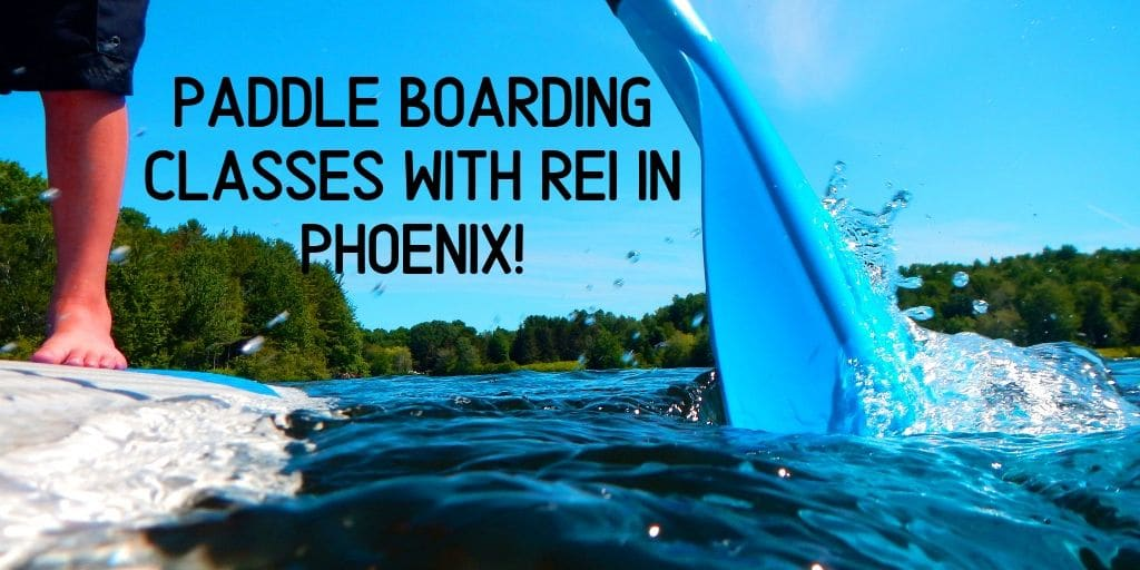 Summers in Phoenix are hot! Cool down with Stand Up Paddle Board classes from REI. Give it a chance, it's a fun way to get some exercise, have some fun, and learn something new. During these hot summers we have to find ways to cool down! Paddle boarding classes with REI cover all the bases!