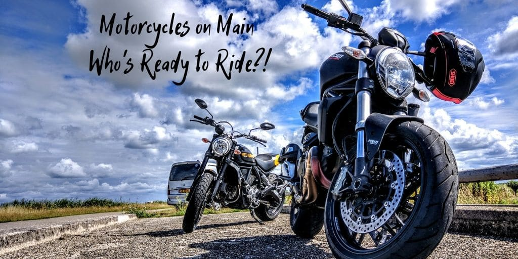 Who is ready to ride? Bikers and motorcycle enthusiasts should head to Mesa for Motorcycles on Main, which takes place the first Friday of every month.